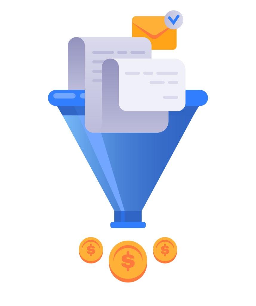 tunnel de vente - fonctionnalités de systeme io